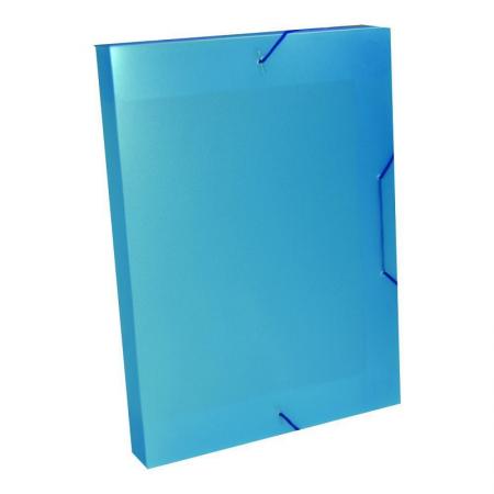 Pasta 40mm Perolizada Azul Cristal 01 Unidade
