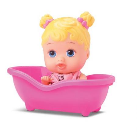 Boneca My Little Dolls Banheirinha Branca 01 Unidade